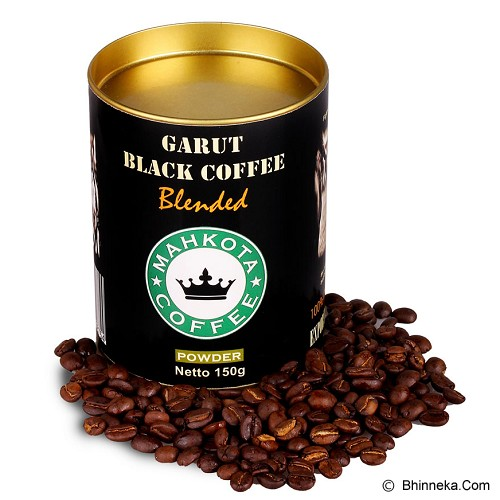 MAHKOTA JAVA COFFE Garut Blend Coffee Ground 150gr  [CBCG01] - Kopi Biji Masak